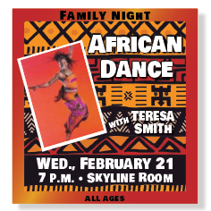 Family Night African Dance