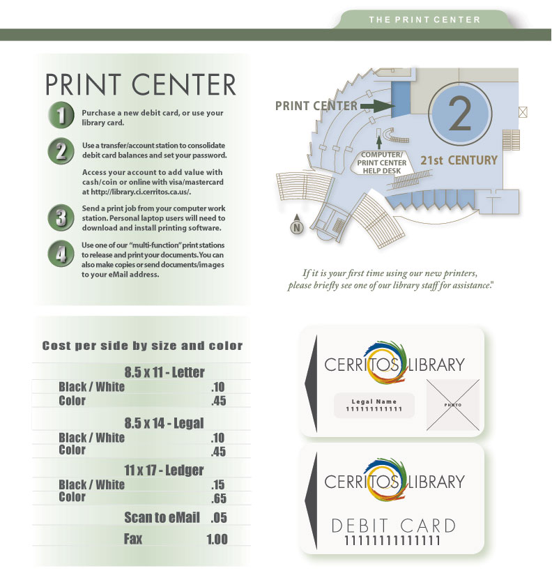Library Print Center